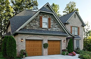 Garage Door Traditional Wood