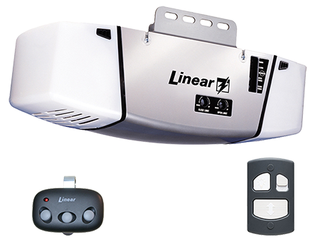 Linear Garage Door Opener and Accessories