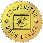 Accredited NJ Garage Door Repair & Installation Company