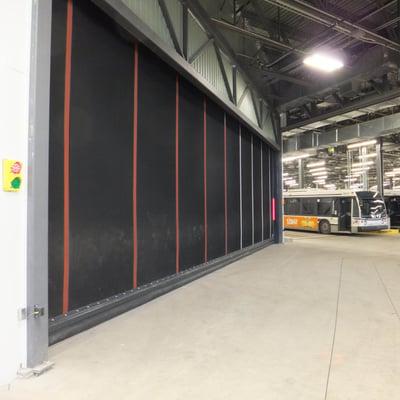 Oversized High-Performance Door NJ 1