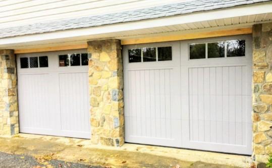 Paint-Grade Wood Garage Door in NJ