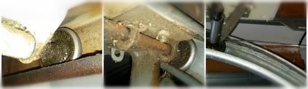 Pluses & Minuses of Quiet Nylon Rollers for Your Home Garage Door; Overhead Door Company of Central Jersey Garage Door Roller Service, Repair and Replacement..jpg