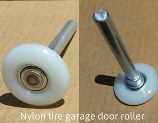 nylon garage door rollersPluses  Minuses of Quiet Nylon Rollers for Your Home Garage Door