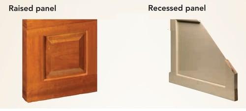Raised Panel vs Recessed Panel Garage Doors by Overhead Door Co. of Central Jersey