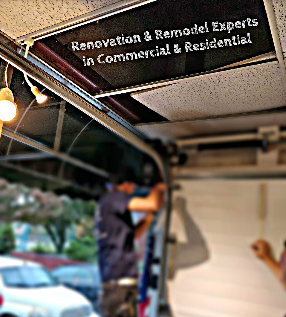 Renovation & Remodel Experts in Commercial & Residential; Best servicemen in Central Jersey; Overhead Door Co. of Central Jersey