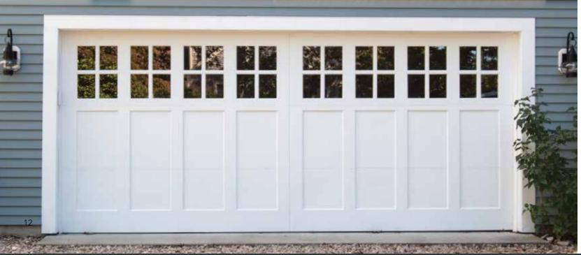 Residential Garage Doors Signature® Carriage Wood Doors in NJ