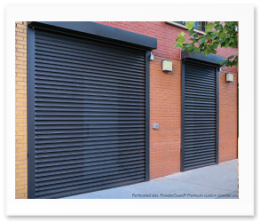Rolling Security Shutters Model 653