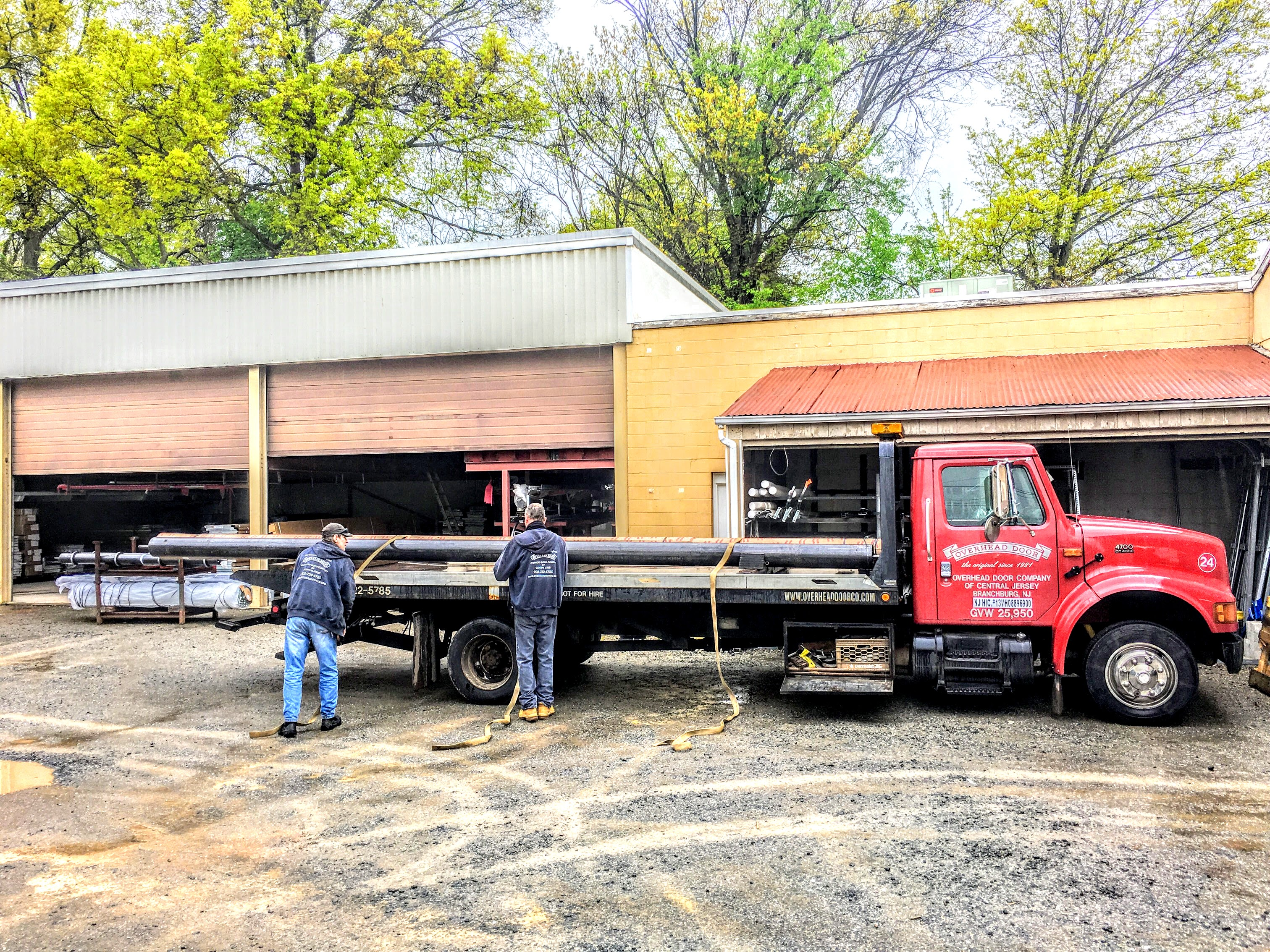 Rolling Steel Door Repair Crew