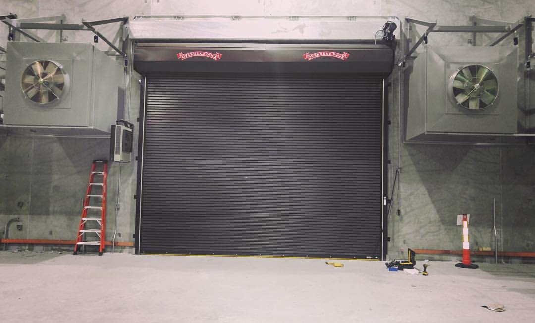 Galvanized Steel Aluminum Stainless Steel Powder Coat Colors for Coiling \u0026 Roll-Up Door Systems : coiling door - pezcame.com
