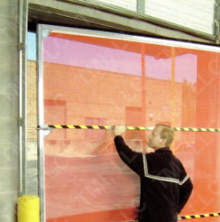 Screen-Pro Portable Framed Bug Screen offered by Overhead Door Co. of Central Jersey