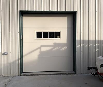 Insulated or Non-Insulated Sectional Steel Doors in Central Jersey