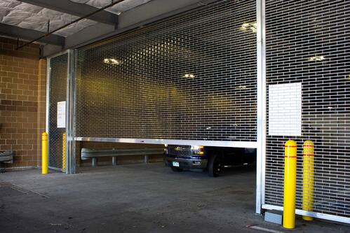 Security Grille - Parking Door by Cookson