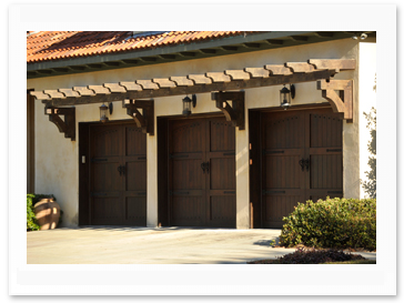 Signature Collection - Wood Garage Doors