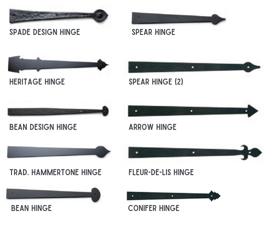 Spade Design Hinge Spear Hinge