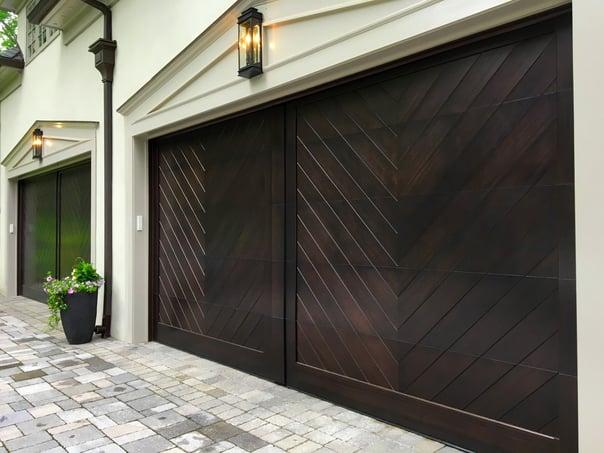 Stain Grade Wood Doors by Overhead Door Company of Central Jersey .