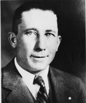 C.G. Johnson - Founder of Overhead Door Company