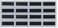Thermacore Garage Door Windows - All window option