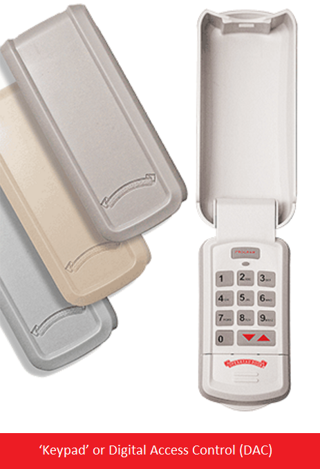 Keypad' or Digital Access Control (DAC) for Overhead Doors in Central Jersey