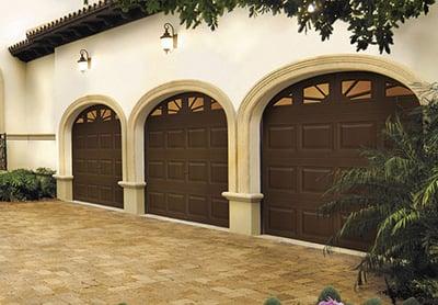 Traditional Steel Garage Door 10