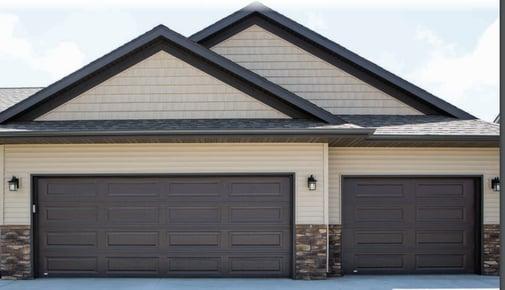 Traditional Steel Garage Door 2-1