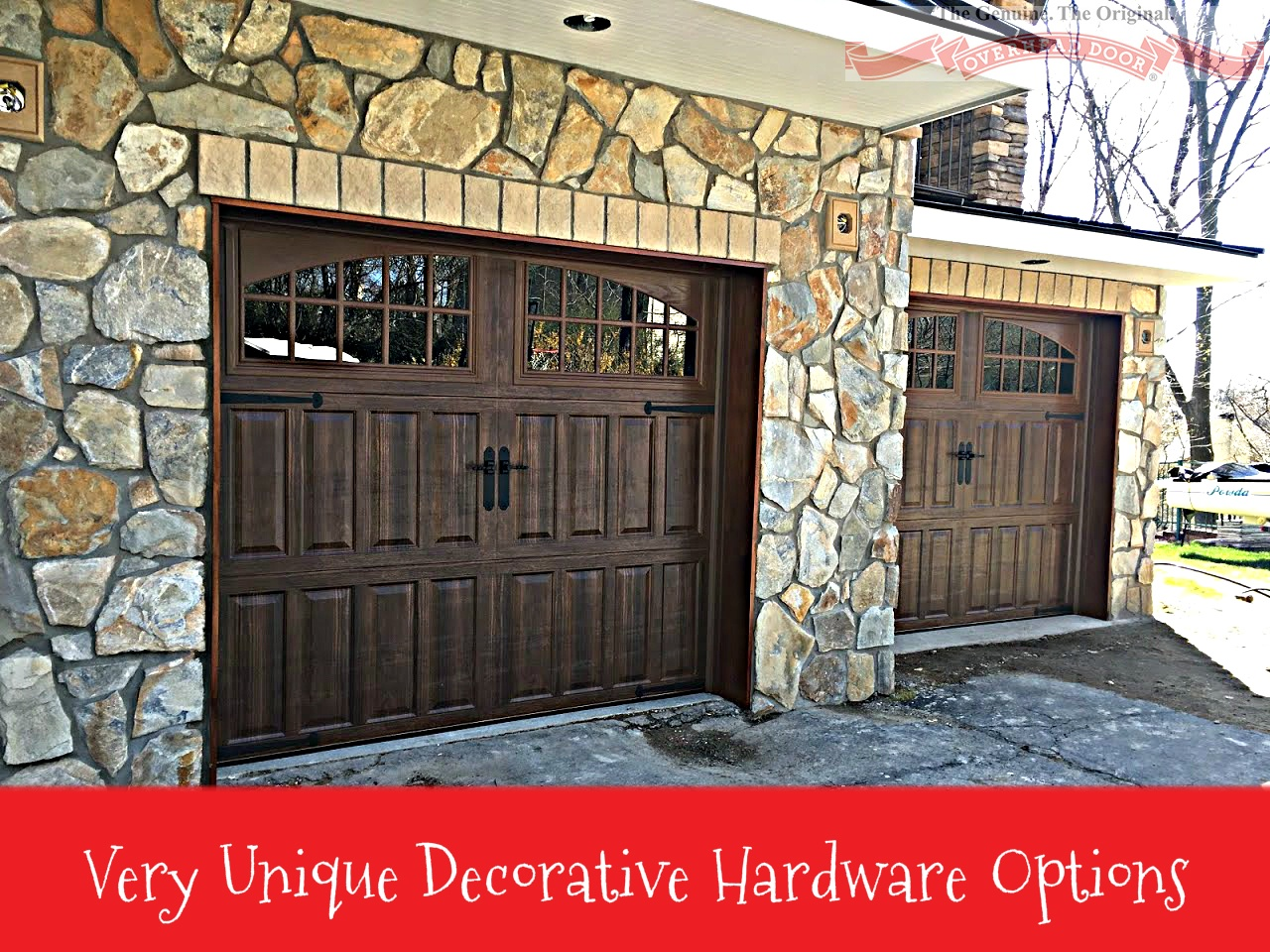 Very Unique Decorative Hardware Options; Door Hinges And Handles; Garage  Door And Decorative Hardware