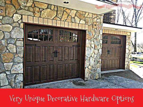 Decorative Hardware for Residential Garage Doors in Central Jersey