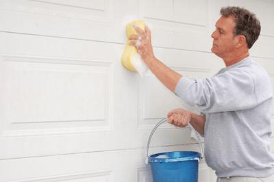 Washing Cleaning Garage Door - How to Inspect and Tune Up Your Garage Door