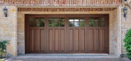 Wood Garage Door Signature Collection