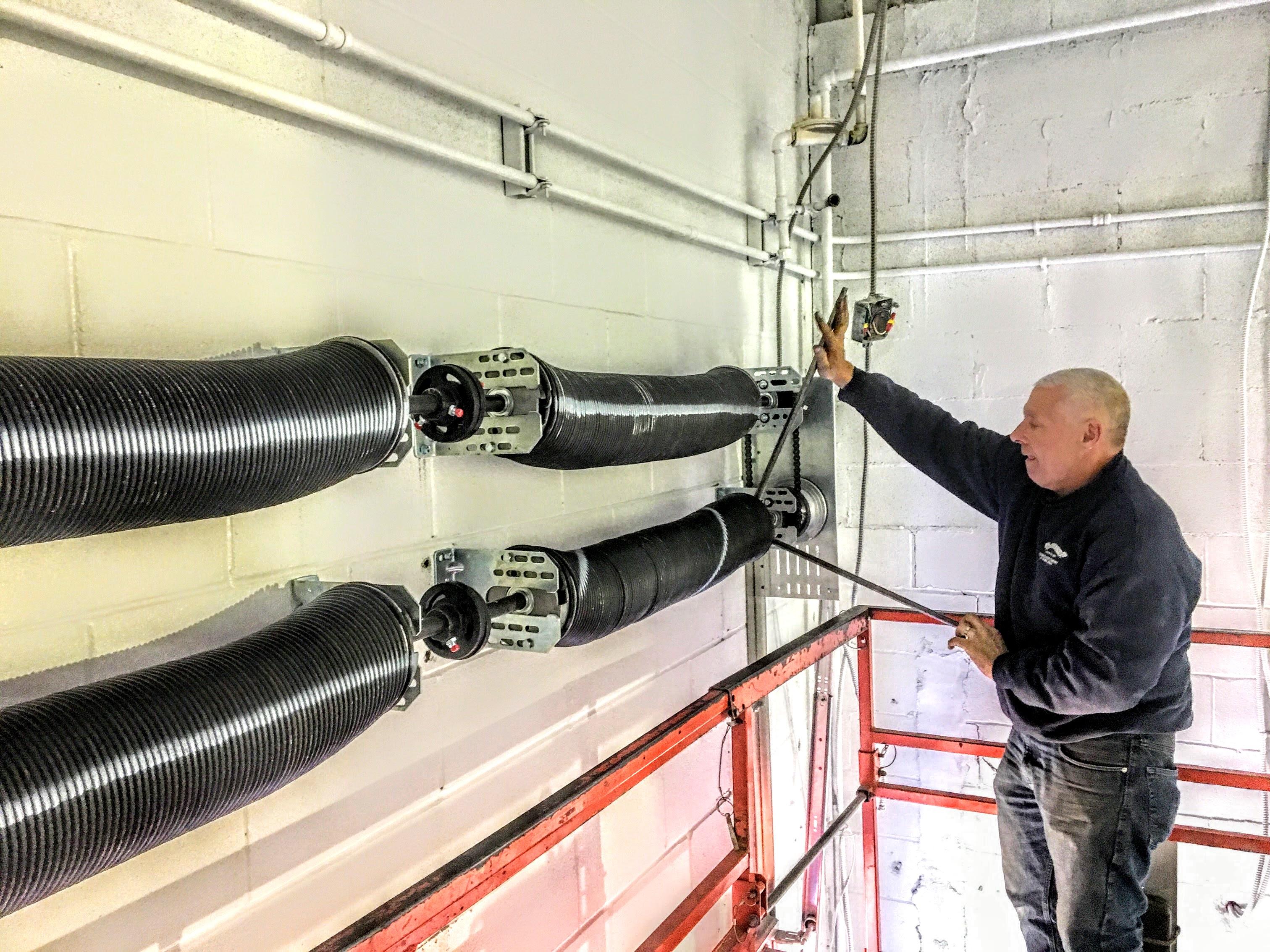 Schedule Commercial Garage Door Repair Loading Dock Service