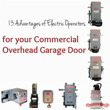 for your Commercial Overhead Garage Door; Overhead Door Central Jersey Commercial Door Operators.