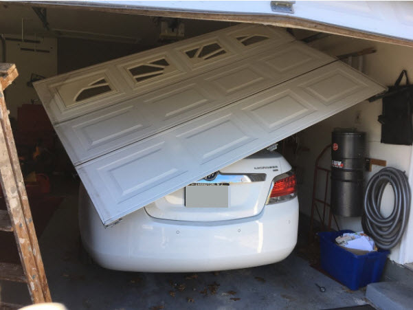 garage door broken