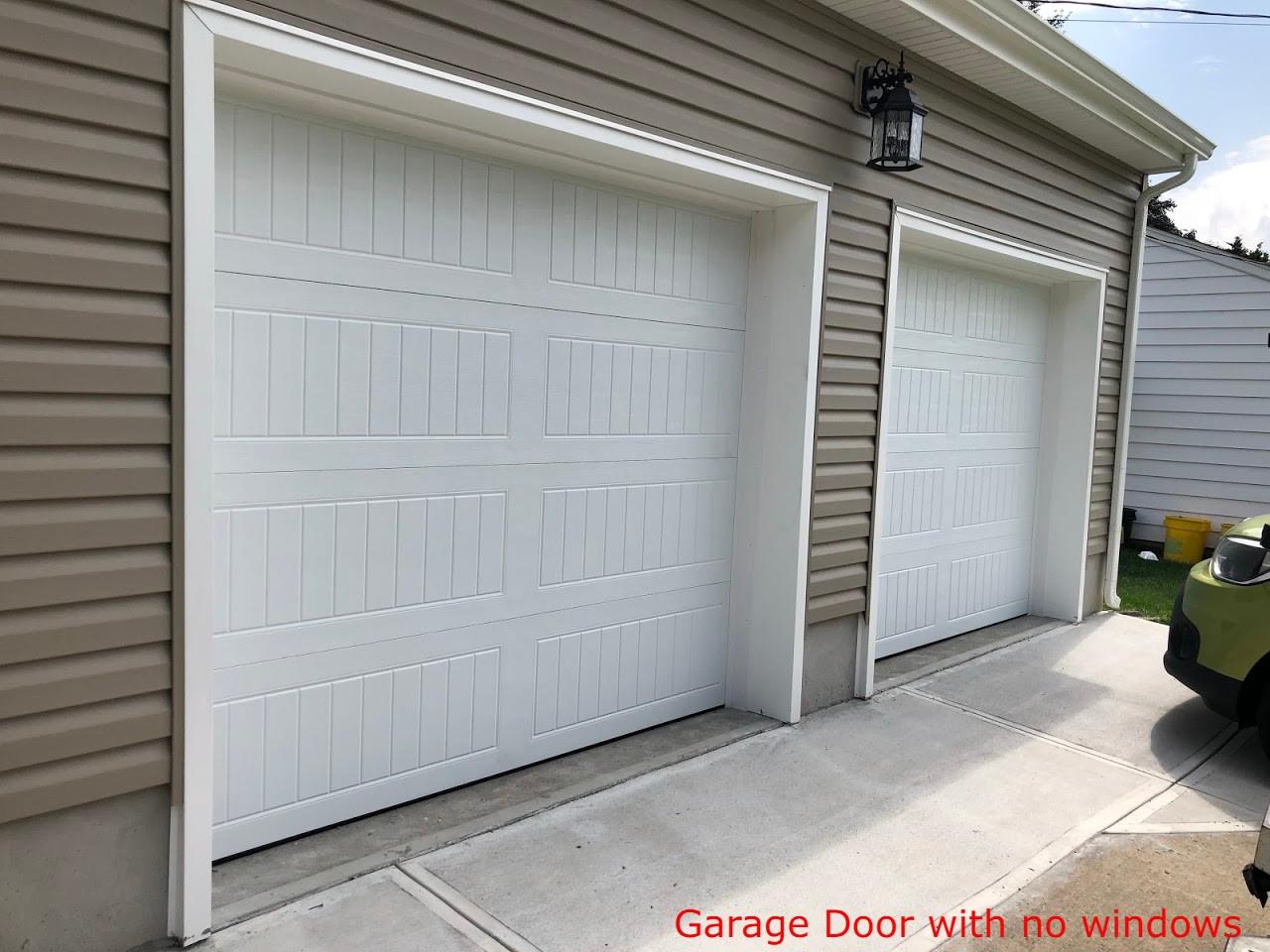 how to pick garage door windows;no windows garage door