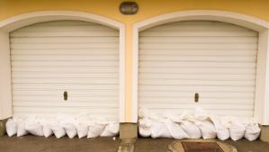 Garage Door with No Weather Seals