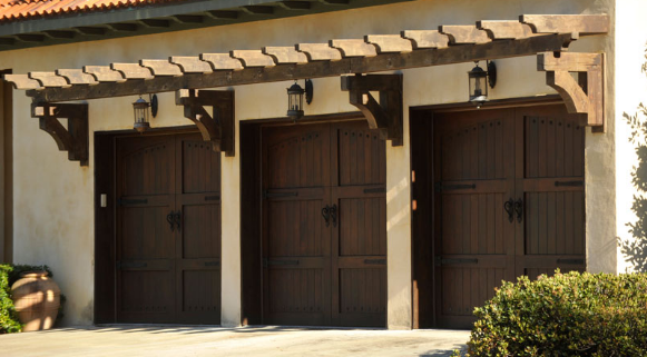 Signature® Carriage: Wood Garage Doors