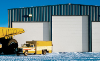Thermacore Insulated, High-Performance Industrial Overhead Door