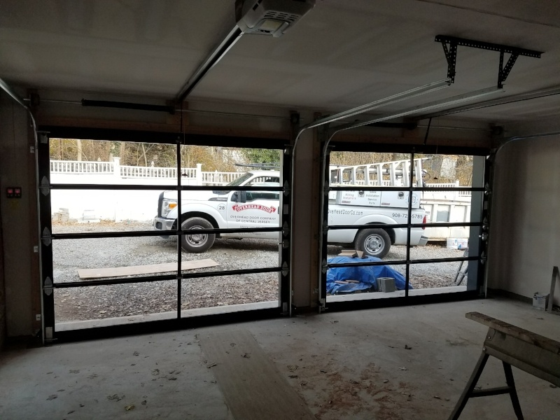 Glass Garage Doors in Central Jersey