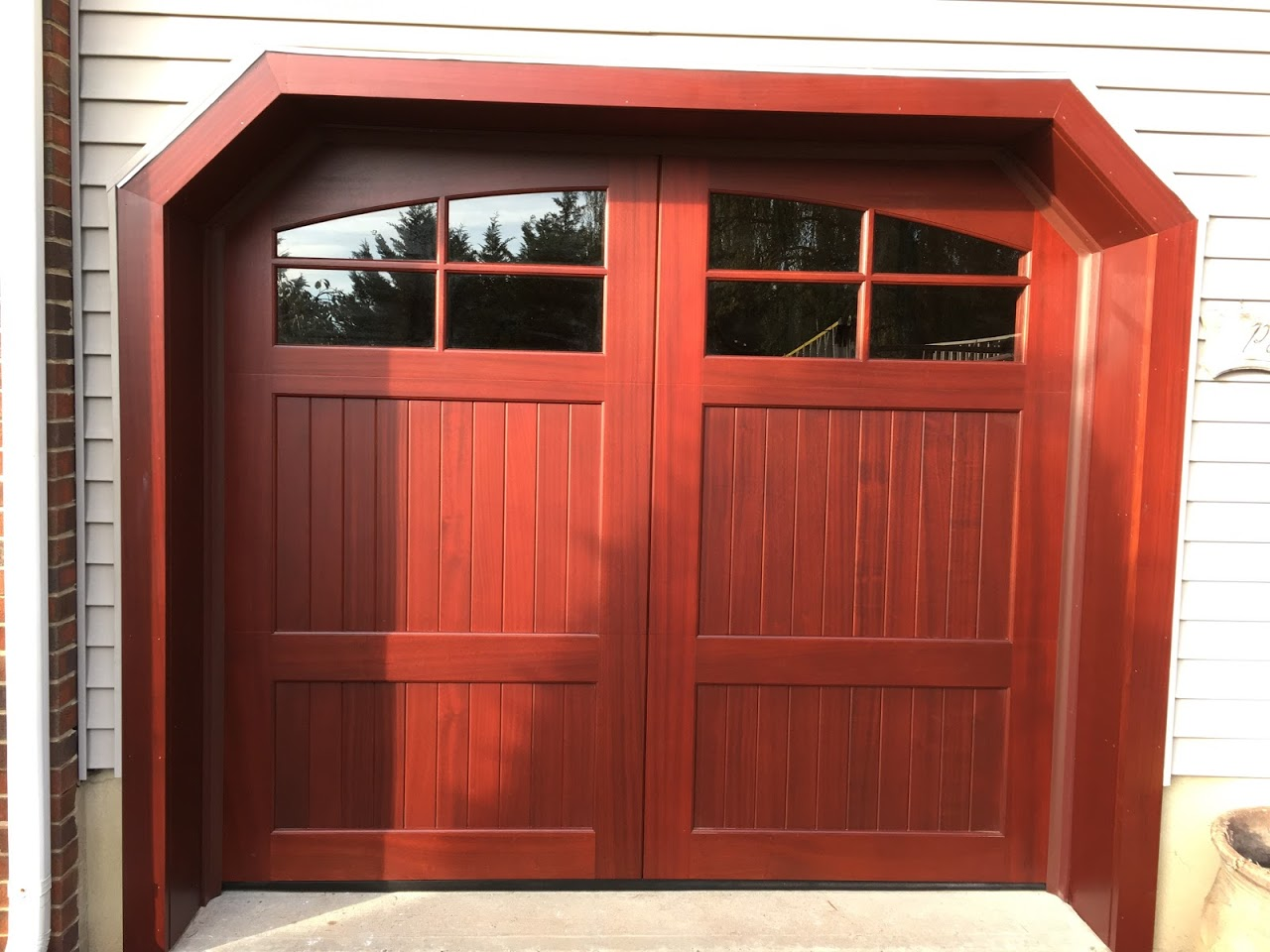 Your Garage Door Guide For Colonial Stye Homes Overhead Door Central Jersey  Service Photo 1