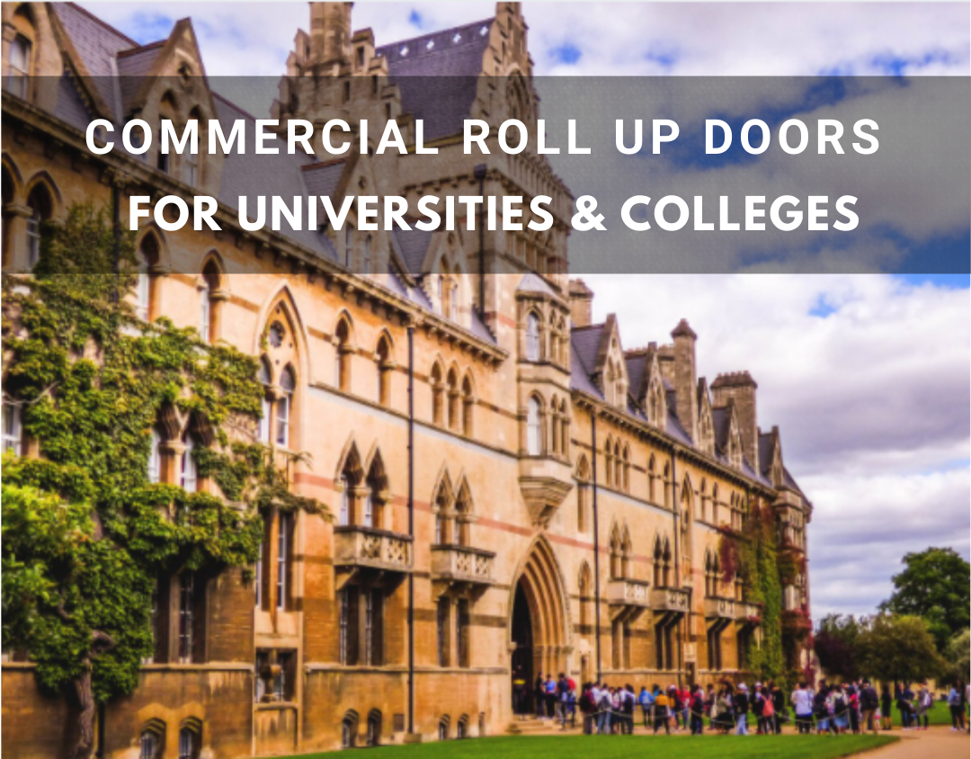 Commercial Doors for Colleges and Universities