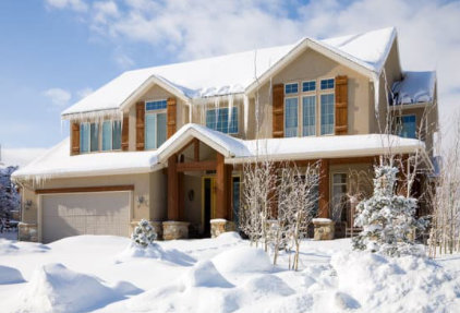 How to Repair a Garage Door From Cold Weather