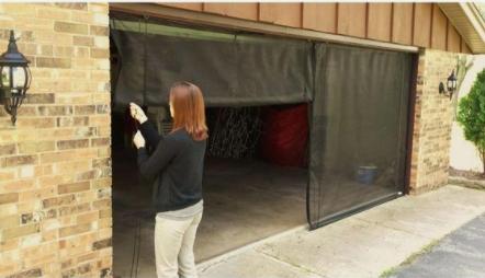 Can I Install A Garage Door Screen?