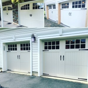 Decorative Hardware Makes Your Garage Door Pop