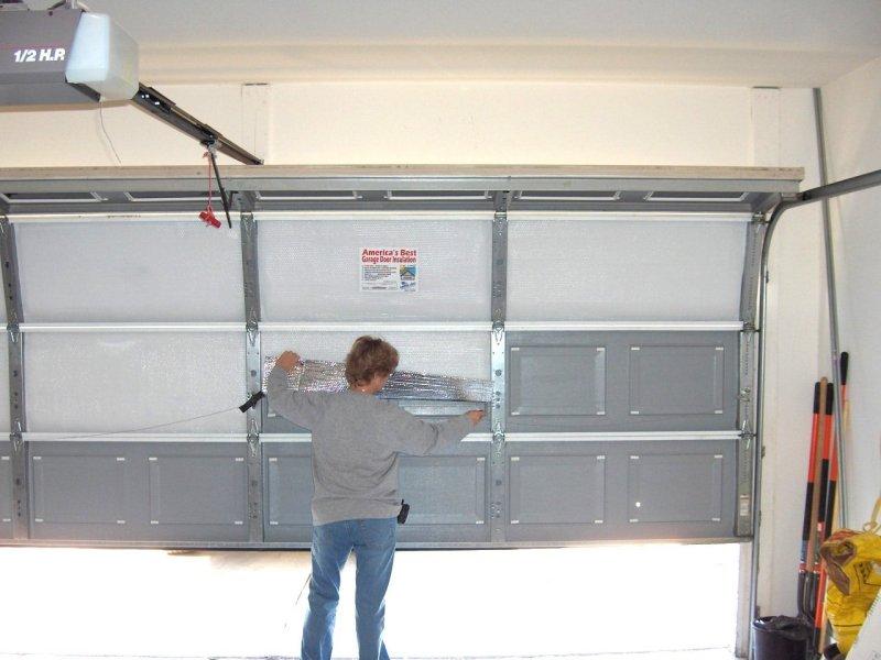Do I Need Garage Door Insulation, How To Weatherproof A Garage Door