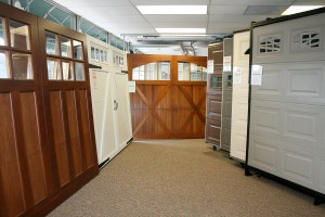 Why should I buy my garage doors from a local business with a showroom?