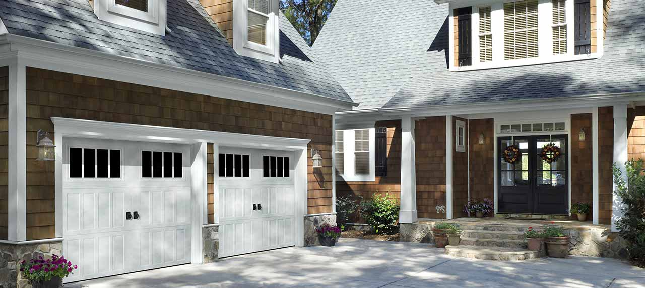 Steel Carriage House Garage Doors NJ
