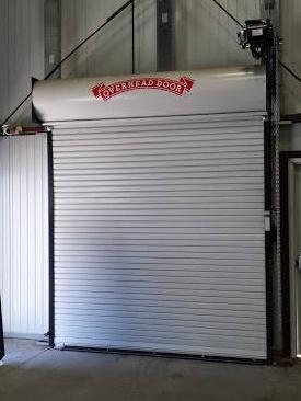 Coil Up Loading Dock Door