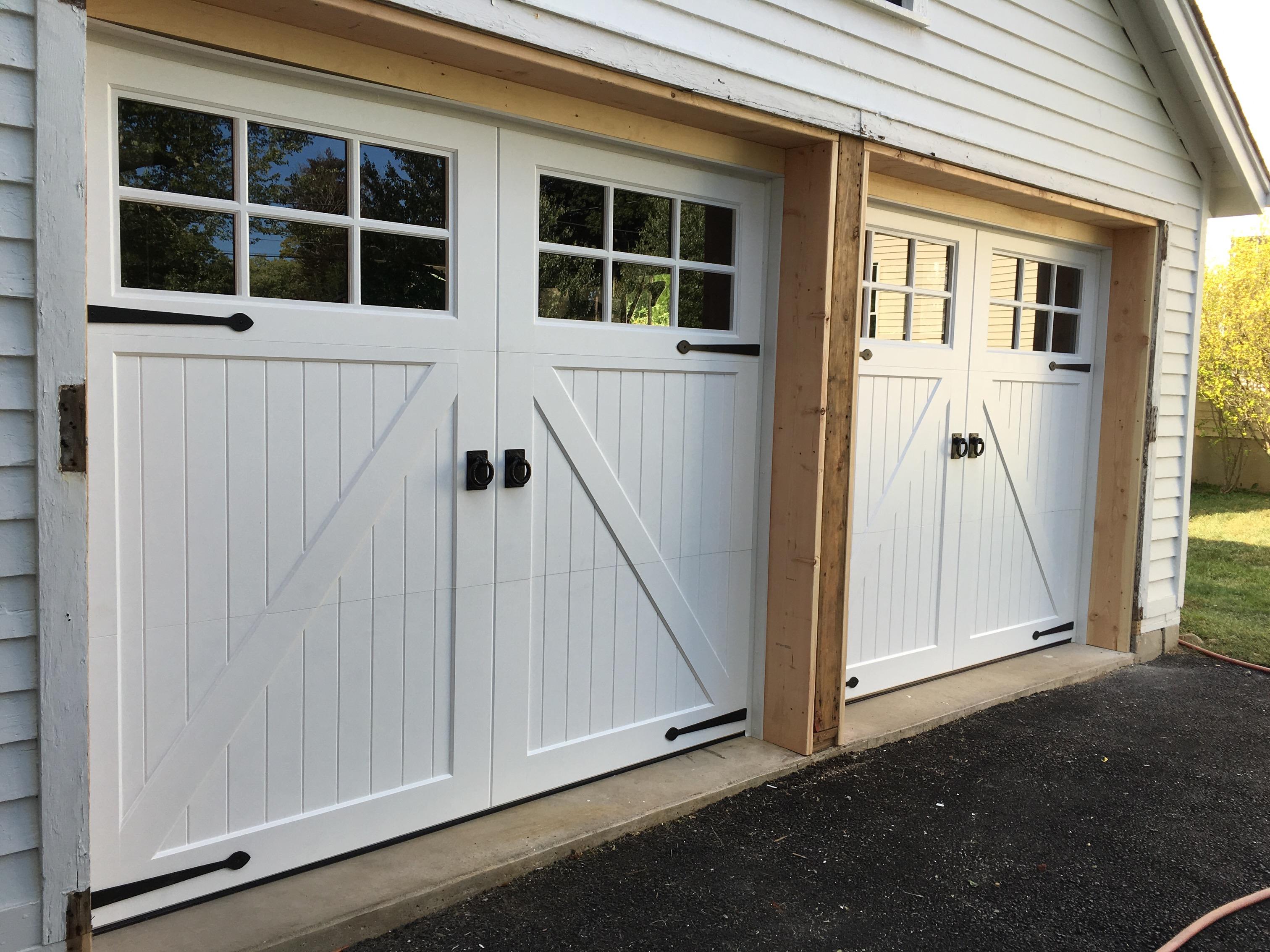 Photo gallery wood carriage house garage doors artisan garage door dealer new jerseyg rubansaba