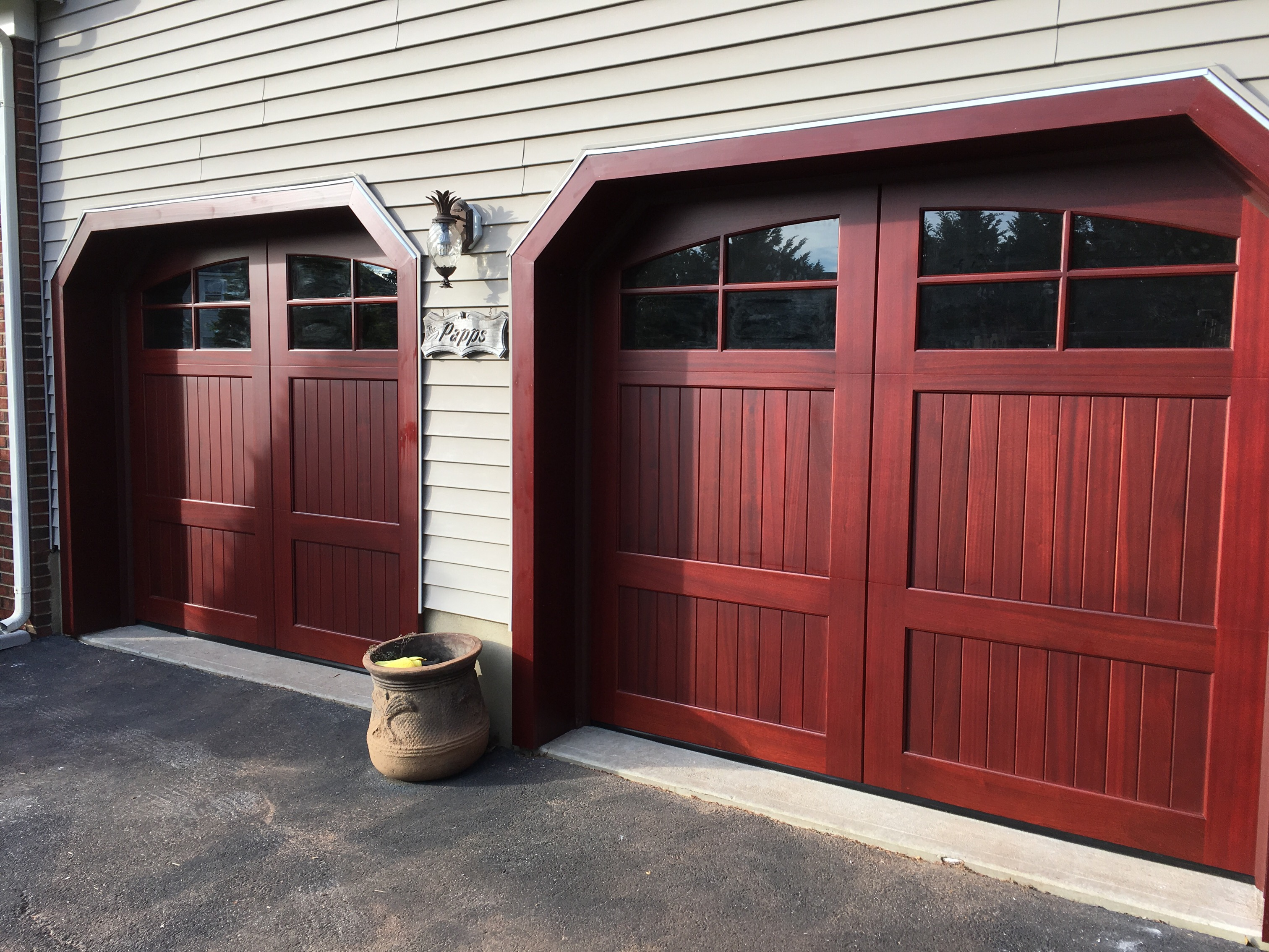 trim siding vinyl doors saddle for door garage installation