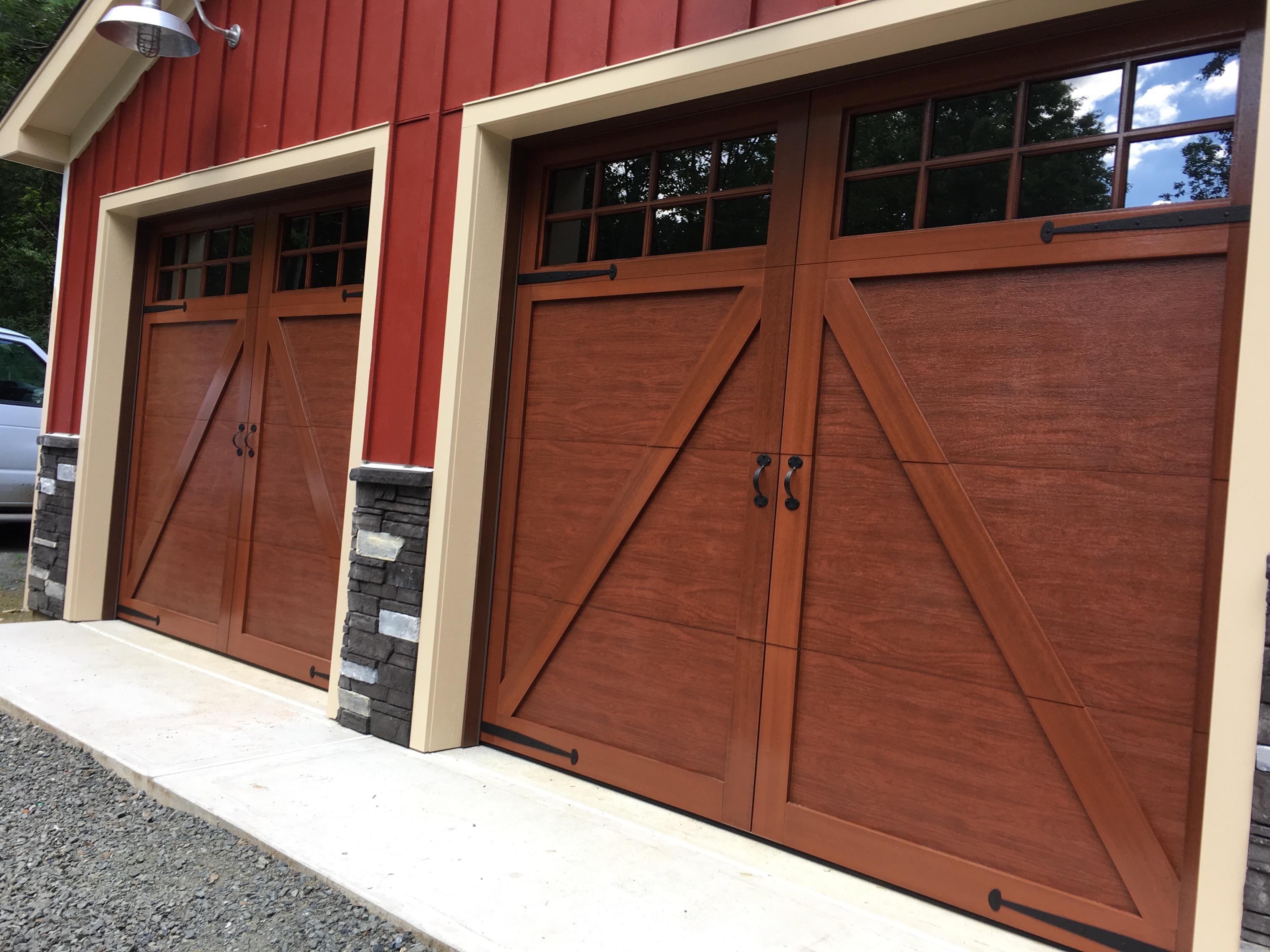 wood carriage garage doors. Single-Buck-Wood-Garage-Door-Installation-Overhead-Door- Wood Carriage Garage Doors E