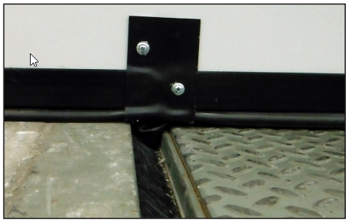 Draft Wedge Seals for Commercial Doors and Loading Dock Equipment