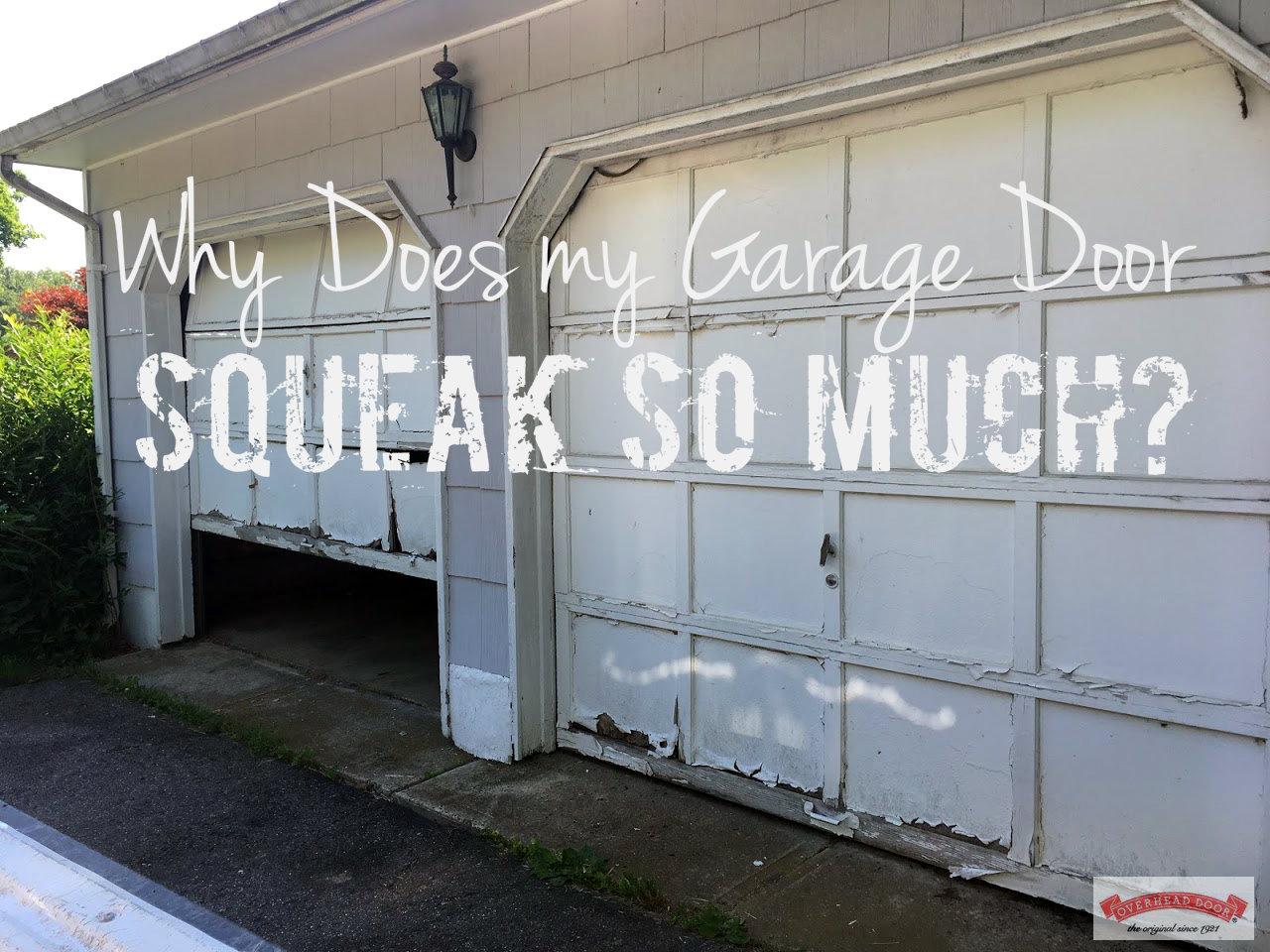 Why Does my Garage Door Squeak So Much?